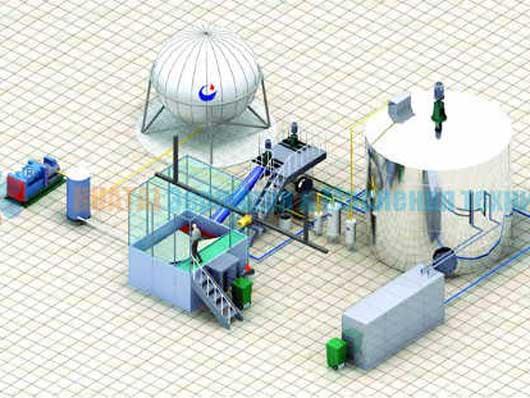 Производство биодизеля из отходов масло