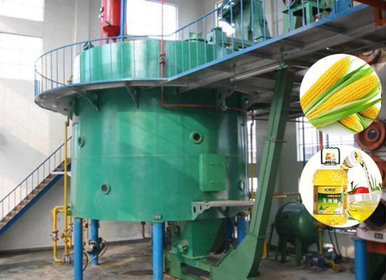 Линия по производству кукурузного масла