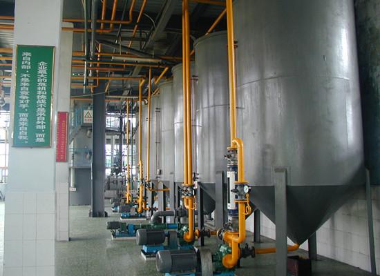 Оборудование для рафинации кукурузного масла
